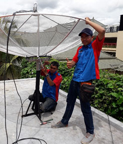 Pasang Parabola Denpasar, Pasang Parabola Hotel, Service Parabola Denpasar, Jasa Pasang Parabola